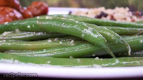 easy garden green beans