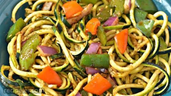 Easy Healthy Zucchini Salad