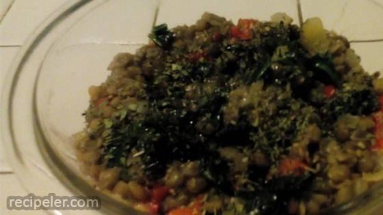 Easy Lentils Side Dish
