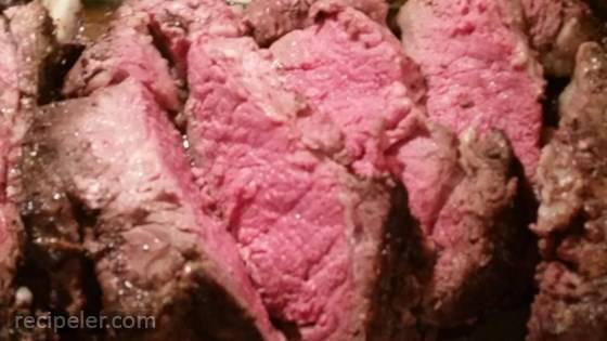 Easy Rib Eye Roast