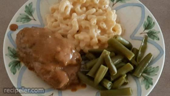 Easy Salisbury Steak for the Family