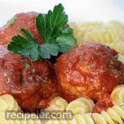 Easy Slow Cooker Meatballs