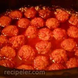 Easy Sweet and Spicy Meatballs