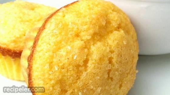 Easy, Sweet Cornbread Muffins