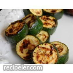 Easy talian Grilled Zucchini