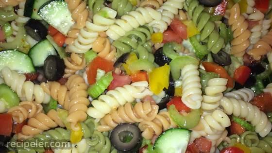 Easy talian Pasta Salad