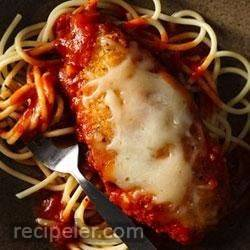 easy weeknight chicken parmesan