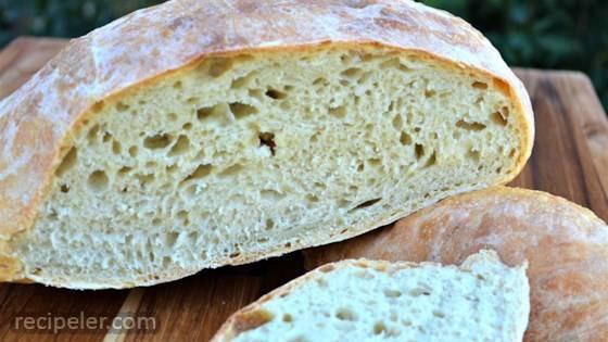 Effortless Rustic Bread