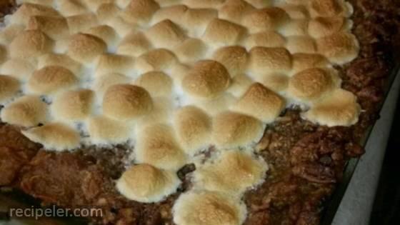 Eggless Sweet Potato Casserole