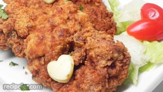 Eggnog Fried Chicken