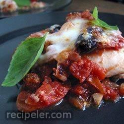 eggplant parmigiana caponata