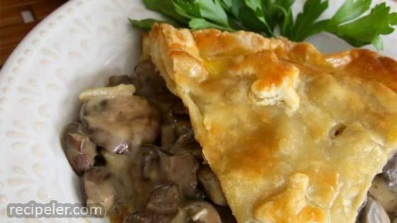 Elegant Mushroom Pie Recipe