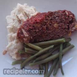 Ellen's Buffalo Meatloaf