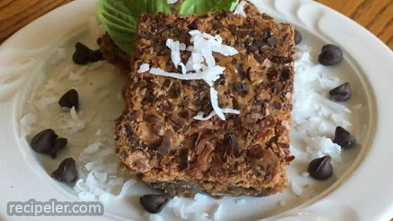 Emily's Chocolate Coconut Brownies