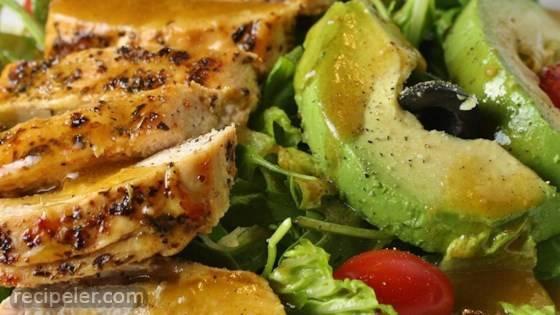 Fab Summer Blackened Chicken Salad