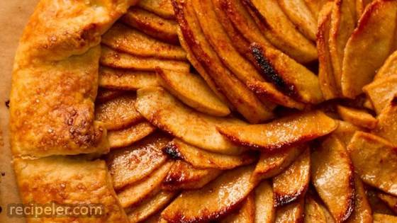 Festive Apple Gallette