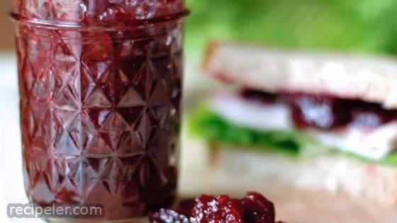 Festive Holiday Cranberry Relish