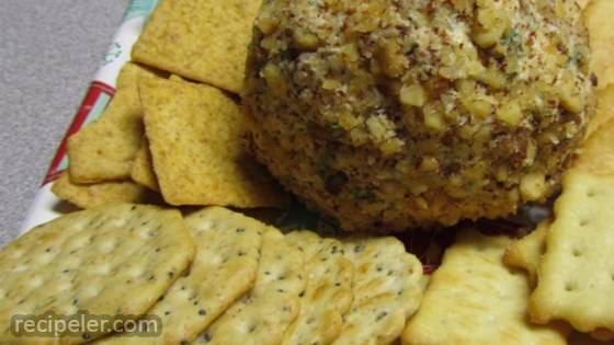 Festive Olive Cheese Ball