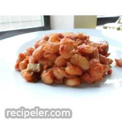 Fiery Baked Beans