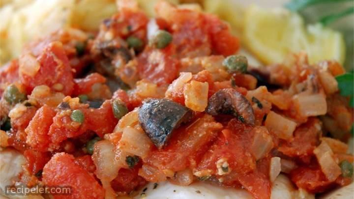 flounder mediterranean
