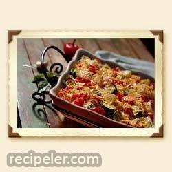 Four Cheese Roasted Vegetables