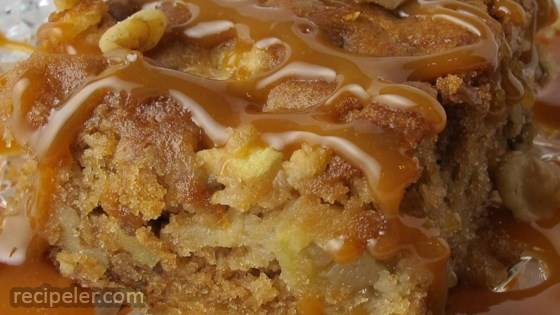 Fresh Apple Walnut Cake