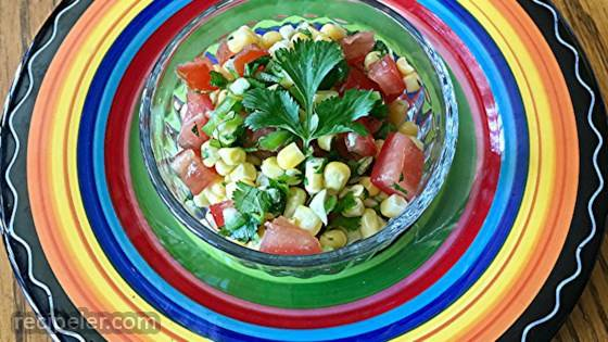 Fresh Corn Relish or Salsa