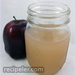 Fresh, Homemade Apple Juice