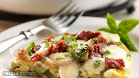 Fresh Mozzarella Frittata