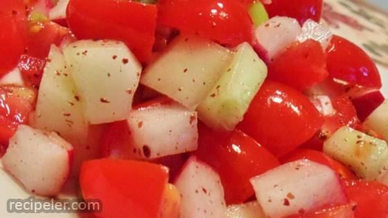 Fresh sraeli Salad