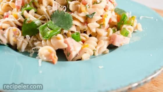 Fresh Summertime Bow-Tie Ham Salad
