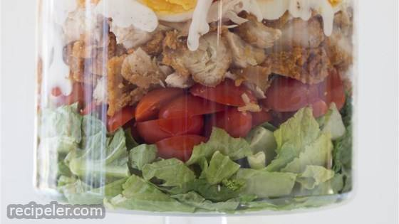Fried Chicken Dinner Salad