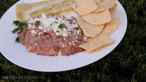 Frijoles Refritos (Refried Beans)