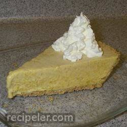 Frosty Pumpkin Pie