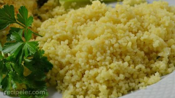 Garlic and Ginger Couscous