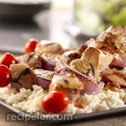Garlic Pork Kabobs