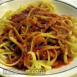 Garlic Spaghetti