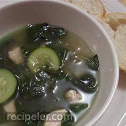 Garlic Spinach Soup