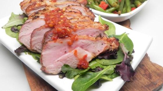 Garlic-tamarind Pork Loin