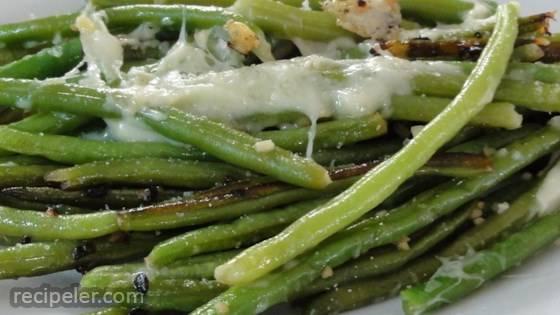 Garlic Wine String Beans