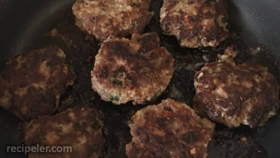 German Hamburgers (Frikadellen)