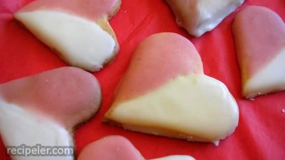 German Heart Cookies