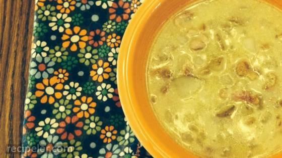 German Potato Bacon Soup