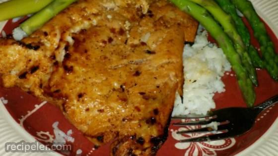 Ginger Chili Citrus Salmon