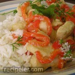 Ginger-Lime Chicken with Coconut Rice