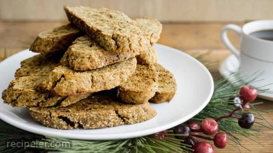 Gingerbread Biscotti from Stevia n the Raw
