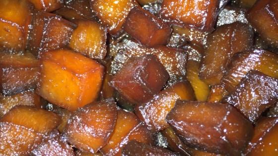 glazed rutabagas