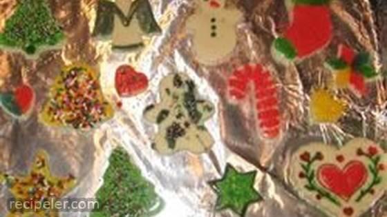 Gluten-Free Basic Sugar Cookies
