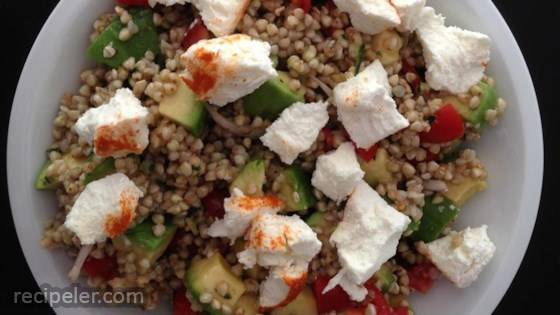 Gluten-Free Buckwheat Avocado Salad