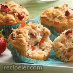 Gluten-free Fruit and Grain Muffins